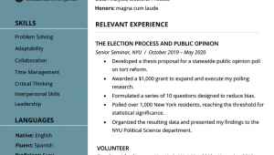 Sample Resume for New College Graduate Recent College Graduate Resume Examples Plus Writing Tips