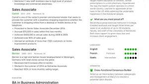Sample Resume for Retail Store associate Sales associate Resume Examples Guide & Pro Tips Enhancv