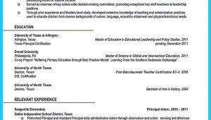 Sample Resume for School Administrator Position An Effective Sample Of assistant Principal Resume assistant …