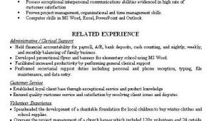 Sample Resume for someone who Has Never Worked Never Worked Resume Sample