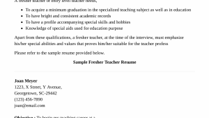 Sample Resume for Teachers without Experience Doc Preschool Teacher Resume without Experience