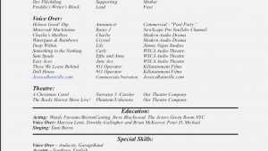 Sample Resume for Voice Over Artist why You Must Experience