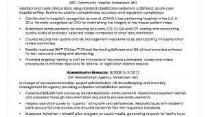 Sample Resume Health Information Management Director Health Information Technician Sample Resume Monster.com
