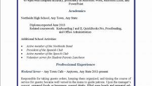Sample Resume High School Student Part Time Job Student Part Time Resume Sample – Good Resume Examples