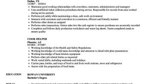 Sample Resume Objective for Kitchen Staff Kitchen Staff Resume Example In 2021 Resume Templates, Job …