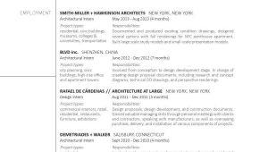 Sample Resume Of Architecture Fresh Graduate Graduate Architecture Portfolio Architecture Resume …