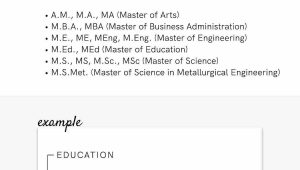 Sample Resume with Masters Degree In Progress How to List A Degree On A Resume [associate, Bachelor's & Master's]