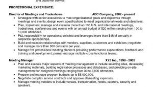 Sample Resume with Onsite Work Experience 65 Cool Collection Of Sample Resume Onsite Experience Meeting …