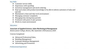 Sample Retail Sales associate Resume with No Experience Retail Sales associate Resume Examples – Resumebuilder.com