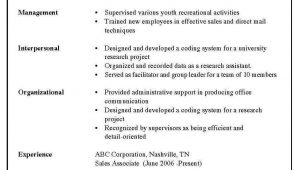 Samples Of Different Styles Of Resumes 3 Types Resume formats Resume format