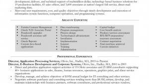 Senior Technical Project Manager Resume Sample New Senior Technical Project Manager Resume Senior Project