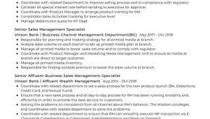 Wealth Management Relationship Manager Sample Resume Affluent Relationship Manager Resume Sample 2021 Writing Tips …