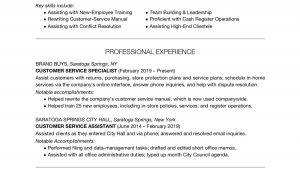 Work From Home Customer Service Resume Sample Customer Service Resume Examples and Writing Tips